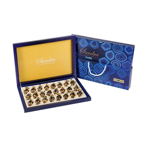 شکلات کادویی ساندرا گل دارک