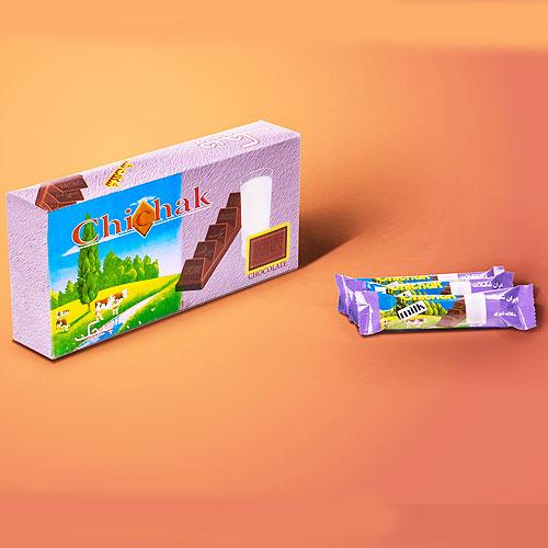 شکلات شیری پله ای
