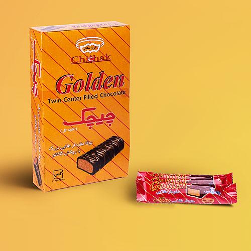 شکلات طلایی بزرگ