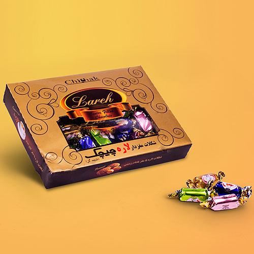 شکلات لاره پذیرایی کوچک