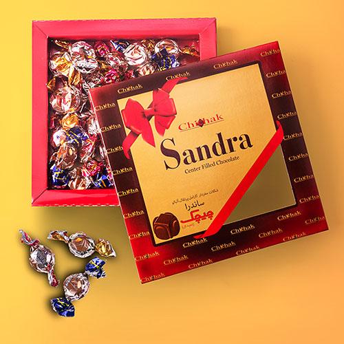 شکلات ساندرا جعبه ای
